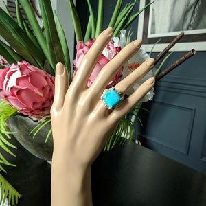 GEMS EN VOGUE Kingman Turquoise Ring 6